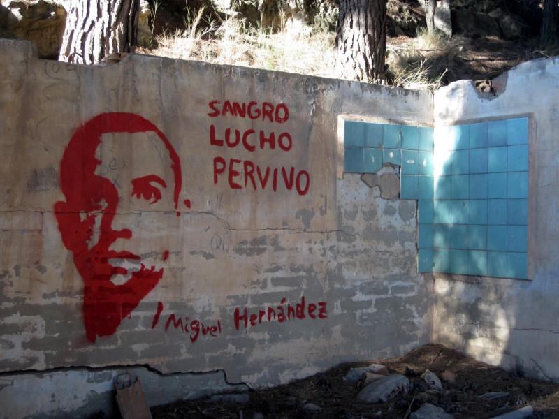 Pintada Miguel Hernández