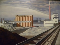 Classic-Lendscape-1931-Charles-Sheeler
