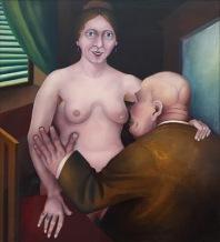 Heinrich Maria Davringhausen, Dirne (Whore), 1921