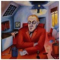 Heinrich Maria Davringhausen, The Dreamer, 1919