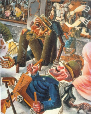 Otto Dix: Las calles de Praga
