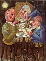 Otto Dix: Jugadores de cartas
