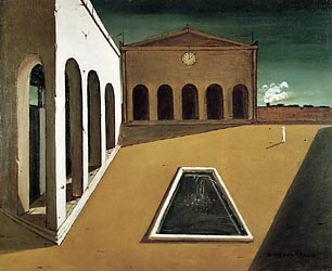 The Delights of the Poet, 1912-Chirico