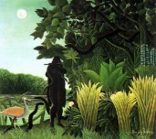 The Snake Charmer 1907-Rousseau