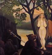 Unpleasant Surprise 1901-Rousseau