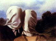 Magritte-Los amantes