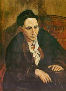 Picasso-Gertrude_Stein