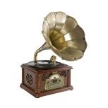 Pincha en el gramófono para escuchar nuestra selección de literatura y música
