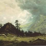 Holdredge_-_Indian_Camp_in_the_Cascades