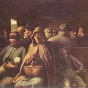 Honoré_Daumier_el vagón de tercera