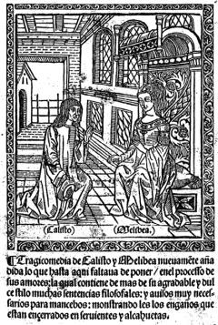 Ilustración de La Celestina