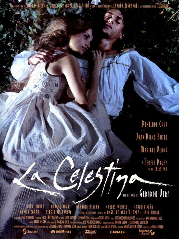"""Cartel de la película """"La Celestina"""" (Gerardo Vera, 1996)"""