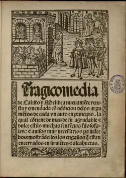Ilustración de la portada de La Celestina