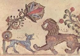 Ilustración de Calila y Dimna