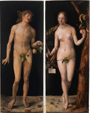 Alberto Durero-Adán y Eva
