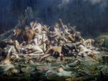 el-diluvio-de-leon-francois-comerre