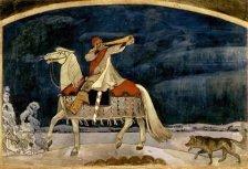 Kullervo parte a la guerra, de Akseli Gallen-Kallela (1901)