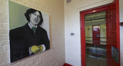 Reconstrucción de la celda de Oscar Wilde